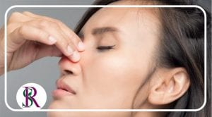 علل درد بینی و راه های تسکین درد بینی، ماساژ بینی برای تسکین درد، ماساژ سینوس